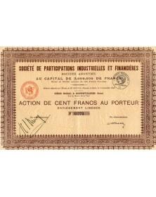 Sté de Participations Industrielles et Financières