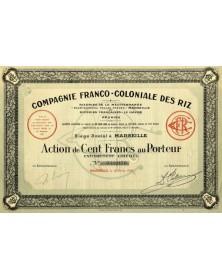Cie Franco-Coloniale des Riz