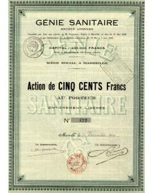Génie Sanitaire (J.B. Pons & Cie)