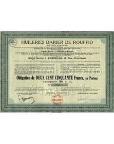 Huileries Darier de Rouffio