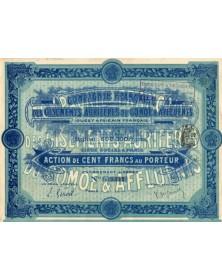 Cie Française des Gisements Aurifères du Comoé & Affluents (1908)