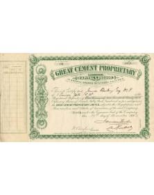 Great Cement Proprietary Ltd.