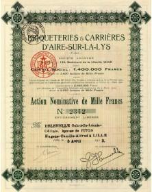 Briqueteries & Carrières d'Aire-sur-la-Lys