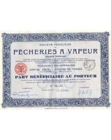 Sté Française de Pêcheries à Vapeur