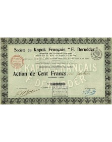 "Sté du Kapok Français -F. Derudder-"""""