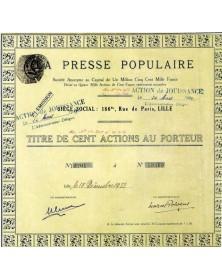 La Presse Populaire