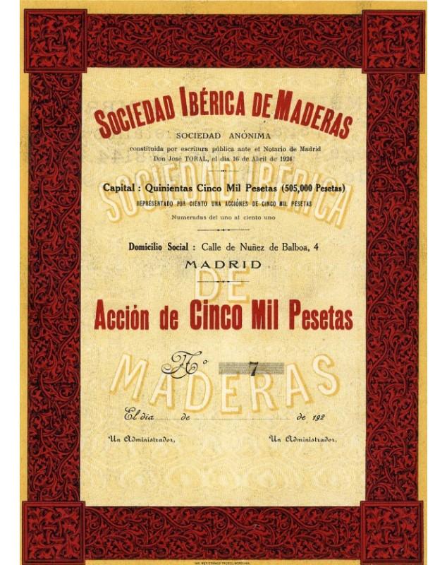 Sociedad Ibérica de Maderas