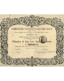 Cie Continentale des Eaux