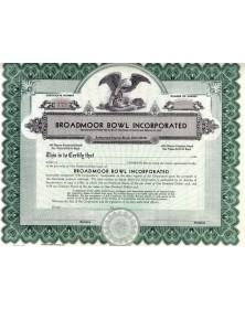 Broadmoor Bowl Inc.