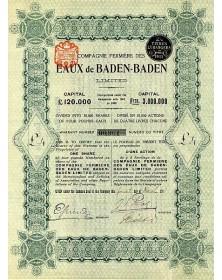 Cie Fermière des Eaux de Baden-Baden