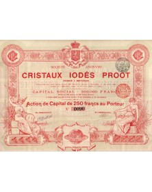 Cristaux Iodés Proot