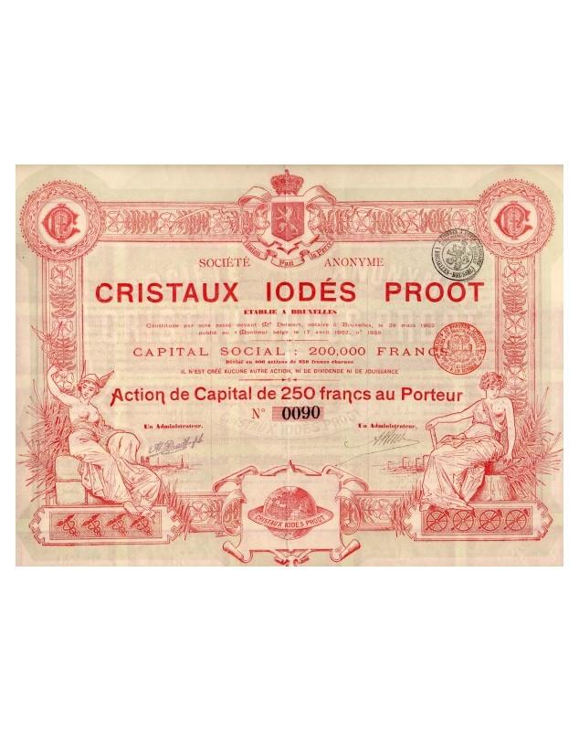 Cristaux Iodés Proot