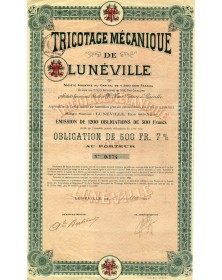Tricotage Mécanique de Lunéville