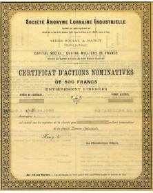 S.A. Lorraine Industrielle