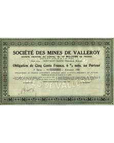 Sté des Mines de Valleroy