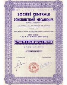 Sté Centrale de Constructions Mécaniques Sté Centrale de Constructions Mécaniques  (Riva-Sport-Industries)