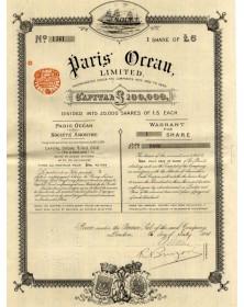 Paris Ocean Ltd