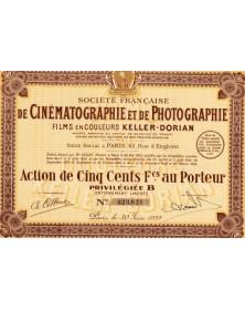 Sté Française de Cinématographie et de Photographie
