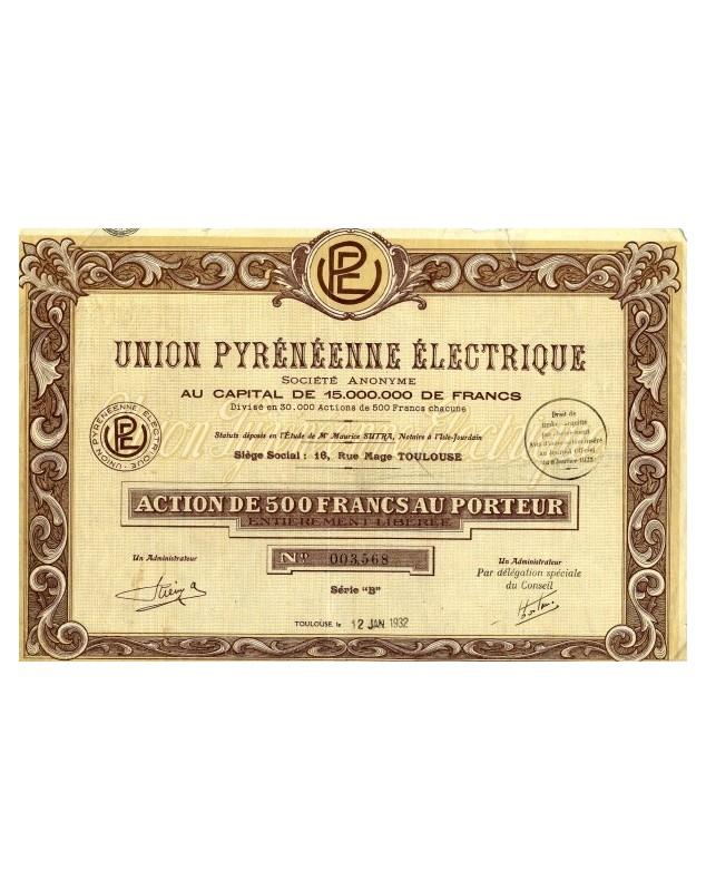 Union Pyrénéenne Electrique