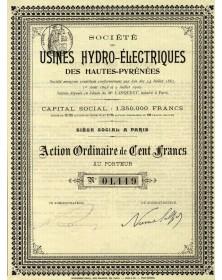 Sté des Usines Hydro-électriques des Hautes-Pyrénées