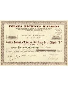 Forces Motrices d'Arrens