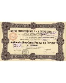 Anciens Ets G. & A. Cusson Frères & Cie. (Louvet & Cie)