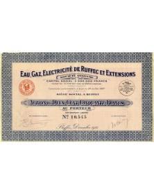 Eau, Gaz, Electricité de Ruffec et Extensions