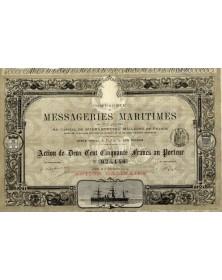 Cie des Messageries Maritimes