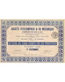Sté d'Estampage & de Mécanique à Bonnières-sur-Seine
