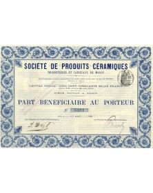 Sté de Produits Céramiques Briqueteries et Carreaux de Massy