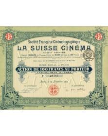 Sté Française Cinématographique la Suisse Cinéma