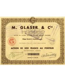 M. Glaser & Cie