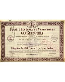 Sté Générale de Charpentes et d'Entreprises Ets A. Mazure