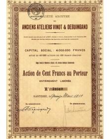 Anciens Ateliers Vinot & Deguingand (Automobiles)