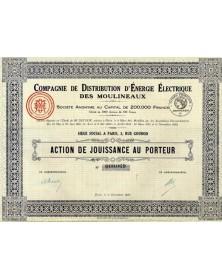Cie de Distribution d'Energie Electrique des Moulineaux