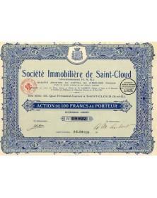 Sté Immobilière de Saint-Cloud