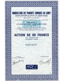 Manufacture des Produits Chimiques du Landy