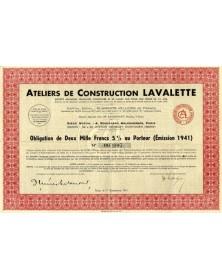 Ateliers de Construction Lavalette