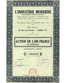 L'Industrie Moderne (anc. L'Industrie Musicale)