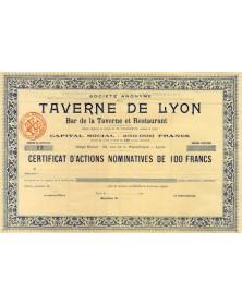 S.A. de la Taverne de Lyon