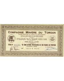 Compagnie Minière du Torgan
