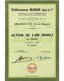 Ets Marion Ainé & Cie (Soieries)
