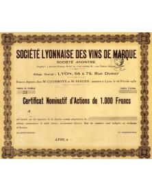 Sté Lyonnaise des Vins de Marque