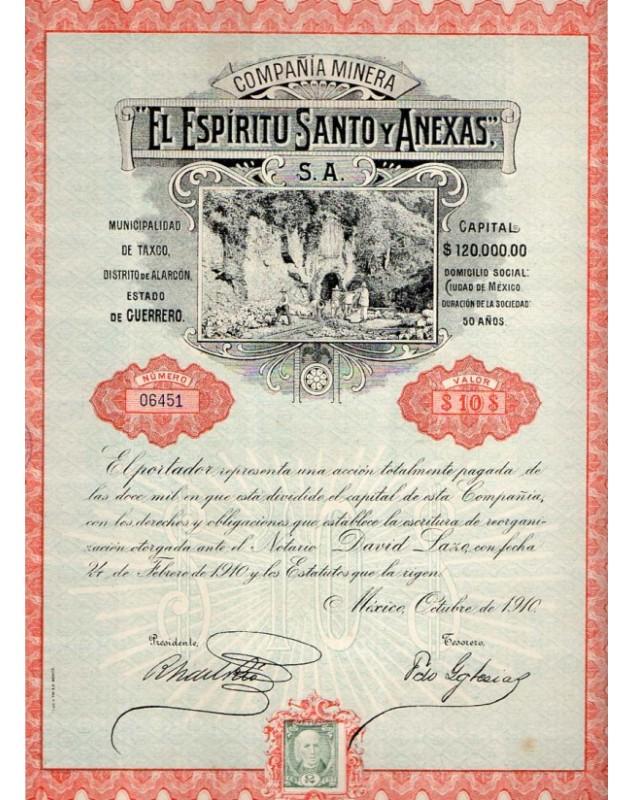 Cua El Espiritu Santo Y Anexas (Taxco - Estado de Guerrero)
