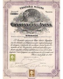 Constancia Y Anexa - Estado de Guanajuato