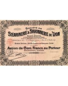 Sté de Stéarinerie & Savonnerie de Lyon