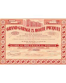 Grand Garage de la Motte Picquet