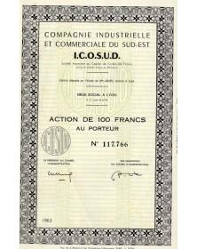 Cie Industrielle et Commerciale du Sud-Est I.C.O.S.U.D.