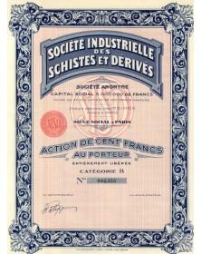 Sté Industrielle des Schistes et Dérivés