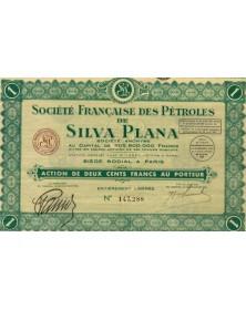 Sté Française des Pétroles de Silva Plana